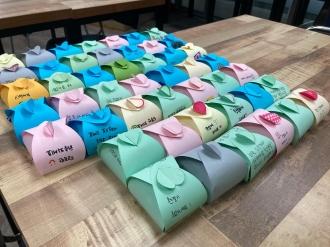 신규 및 휴먼자원봉사자 기본교육과 사탕주머니 만들기 활동